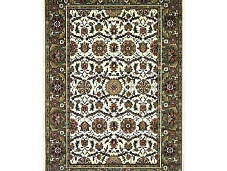 Kas Rugs Cambridge 730 Floral Agra Area Rug Red / Ivory - CAM730677X1010