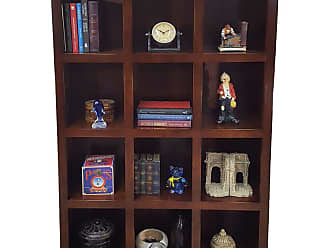 American Heartland Poplar Cube Storage Bookcase, Size: 42 in. - 00200EAM