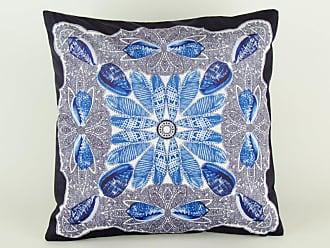 Wayborn Seashell Print Pillow Orange - 11009D-2