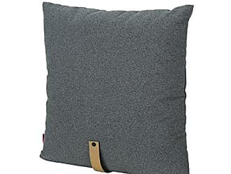 Christopher Knight Home 305386 Dunn Mid Century 20 Fabric Pillow with Faux Leather Strap, Charcoal and Golden Tan