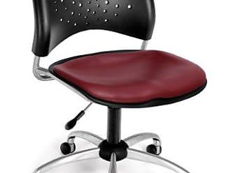 OFM 326-VAM-603 Stars Swivel Vinyl Chair, Wine
