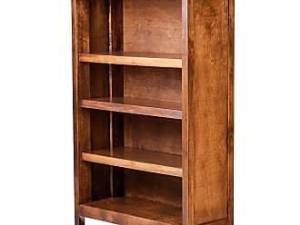 Forest Designs Urban Bookcase Unfinished Alder, Size: 96 in. - B6112- UC-96H-UA