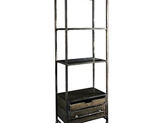 Ashley Furniture Reed Metal Four Tier Bookcase, Black