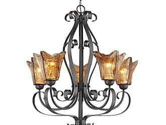 Millennium Lighting Chatsworth 5-Light Chandelier in Burnished Gold