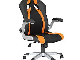 Rivatti Cadeira Gamer Speed Preta e Laranja