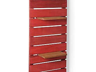 Mão & Formão Deck de Parede Vertical - VermelhoVermelho