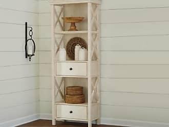 Ashley Furniture Bolanburg Display Cabinet, Antique White