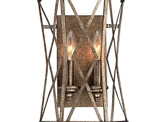 Millennium Lighting Lakewood 2-Light Wall Sconce in Vintage Gold