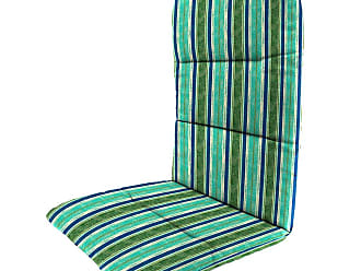 Jordan Manufacturing Company Polyester Classic Adirondack Cushion, 49x 20.5x 2.5with hinge 18from bottom