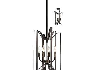 Z-Lite 4000-4 Marsala 4 Light Pendant / Ceiling Fixture Brushed Nickel