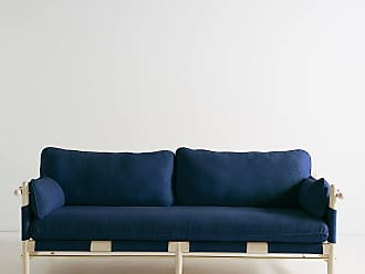 Anthropologie Belgian Linen Jamaica Sofa