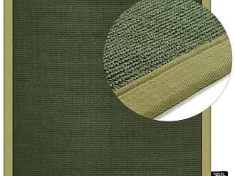 Benuta Kurzflor Teppich Sisal Quadratisch Grün 200x200 Cm   Moderner Teppich  Für Wohnzimmer