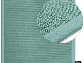 Benuta Kurzflor Teppich Sisal Quadratisch Türkis 150x150 Cm   Moderner  Teppich Für Wohnzimmer
