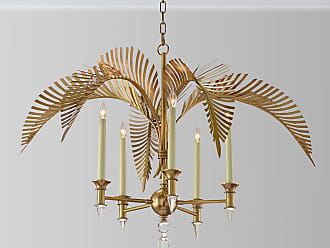 Chandeliers by john richard now shop at usd 30000 stylight john richard palm frond 5 light chandelier aloadofball Choice Image
