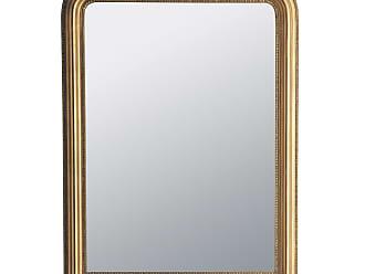 maisons du monde miroir cleste or 120x90