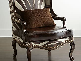 Massoud Zena Hairhide U0026 Leather Wing Chair