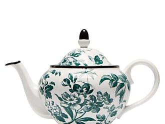 Gucci Herbarium Porcelain Teapot - Womens - Green Multi