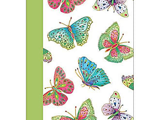 Caspari Entertaining with Caspari Jeweled Butterflies Lined Journal
