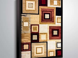 Brushstone Squared I by Scott Medwetz Framed Canvas - 0MED892A0810F