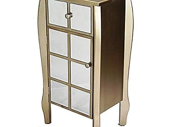 Heather Ann Creations The Lana Collection Modern Style 1 Drawer 1 Door Entry Way Living Room Accent Cabinet, Cherry