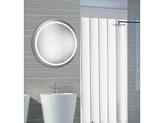 Elegant Furniture & Lighting Round LED Wall Mirror 5000K - MRE-6005