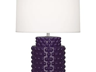 Robert Abbey Lighting Store Dolly AL Dolly 22 Column Table Lamp with a Fondine