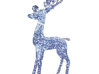 National Tree Company 60 in. Reindeer Decoration with LED Lights - DF-210001C