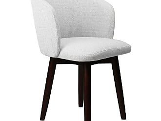 SOUTH CONE Dante Upholstered Dining Parson Chair with Swivel Espresso - DANTECH/WAL/ESPRESSO