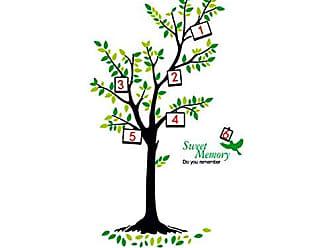 Zoo Adesivo Decorativo Árvore Porta Retratos Genealógica Família