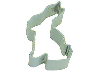 CybrTrayd R&M Mini Bunny Cookie Cutter Mint With Brightly Colored, Durable, Baked-on Polyresin Finish
