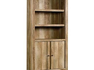 Sauder Sauder 420409 Dakota Pass Library With Doors, L: 33.82 x W: 12.52 x H: 71.10, Craftsman Oak finish