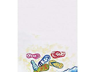 Betsy Drake KT154 Six Flip Flops Kitchen Towel