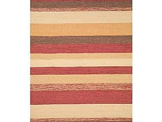 Liora Manne RVL71190024 Ravella Variations Rug Stripe Indoor/Outdoor Rug 76 X 96 Red