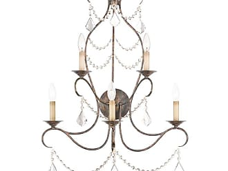 Livex Lighting 6445 Chesterfield 5 Light Wall Sconce Venetian Golden