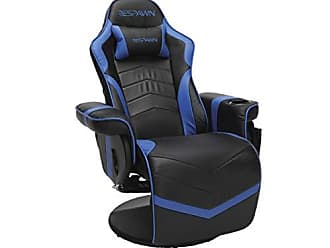 OFM RESPAWN-900 Racing Style Gaming Recliner, Reclining Gaming Chair, in Blue (RSP-900-BLU)