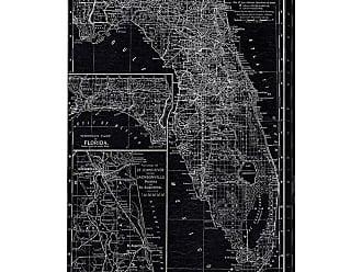 Hatcher & Ethan Florida Map 1891 Canvas Art - HE12408_40X60_CANV_XXHD_HE