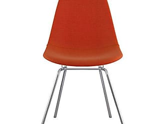 NyeKoncept 331004CL1 Mid Century Classroom Side Chair, Lava Red