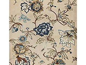 Kas Rugs Kas Rugs 0730 Catalina Serenity Area Rug, 3-Feet 3-Inch by 5-Feet 3-Inch, Ivory/Blue