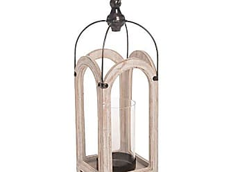 Foreside Home And Garden Palace Lantern White
