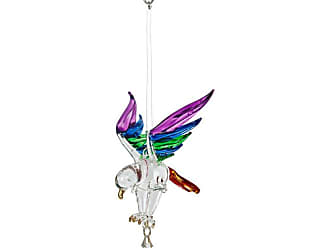 Woodstock Chimes Fantasy Glass Summer Rainbow Eagle Wind Spinner - CERAI