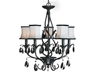 Woodbridge Lighting 12156-BLK Avigneau 5 Light 21-1/2 Wide Single