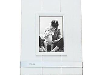 Foreside Home And Garden Foreside Home & Garden FFRD07054 4 x 6 Landmark Mom Photo Frame, 4 x 6, White/Silver