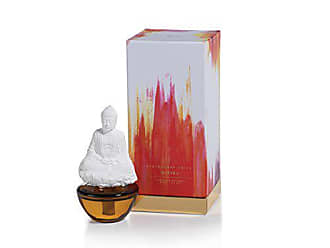 Zodax Mantra Buddha Porcelain Diffuser, Peppered Smoke Fragrance
