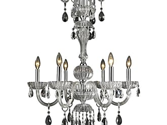 Worldwide Lighting W8317825 Carnivale 6 Light 25 Wide Crystal