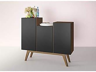 Estilare Aparador Buffet Bar com Design Moderno BR86 Elegance - Preto