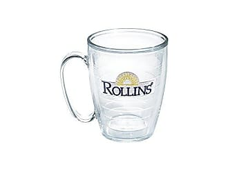 Trevis Tervis Rollins College Emblem Individual Mug, 16 oz, Clear