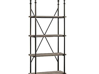 Sauder Sauder 419228 Canal Street 5-Shelf Bookcase, L: 29.53 x W: 15.51 x H: 70.00, Northern Oak finish