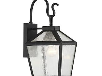 Savoy House 5-100 Woodstock Single Light 17 Tall Outdoor Wall Sconce