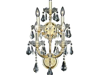 Elegant Lighting 2801W5G Maria Theresa 5-Light Crystal Wall Sconce