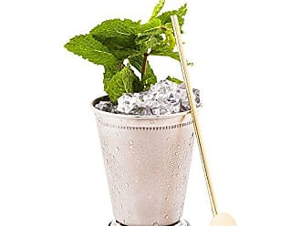 Restaurantware 7.5-inch Reusable Stainless Steel Drink Spoon Straw: Perfect for Bars and Restaurants - Copper-Plated Julep Spoon Cocktail Straw - Rounded Design Suitable for Children - 2-CT - Restaurantware